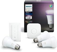 Philips Hue White en Color Ambiance E27 Ledlamp, starterset