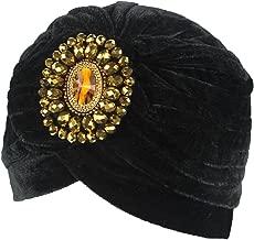 DECOU Twist Pleated Hair Wrap Stretch Turban 0545