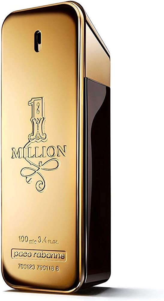 Paco Rabanne 1 Million Eau de Toilette per Uomo, 100 ml 162533