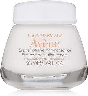Eau Thermale Avene Rich Compensating Cream, Nourishing Face Moisturizer, Non-Comedogenic, 1.6 oz.