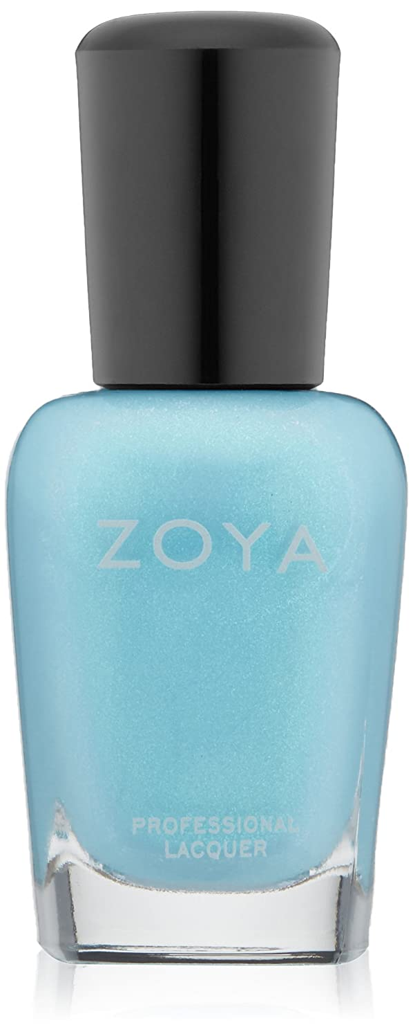 司法保持すべてZOYA ゾーヤ ネイルカラー ZP772 RAYNE レイン 15ml 2015Spring  Delight Collection ターコイズブルー マット?パール 爪にやさしいネイルラッカーマニキュア