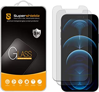 (2 Pack) Supershieldz Anti Glare and Anti Fingerprint (Matte) Screen Protector for iPhone 12 and iPhone 12 Pro (6.1 inch)...