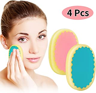Facial Hair Removal for Women,TOPOINT Flawless Painless Hair Remover Depilation Sponge Pads for Face Lip Armpit Chin Cheek Leg