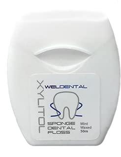 WELdental Xylitol Sponge Dental Floss 50m (55yds)