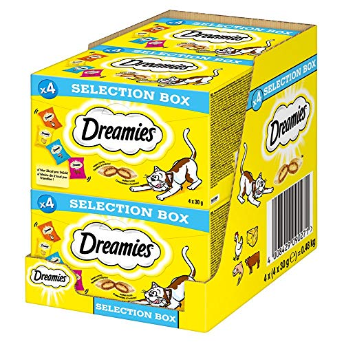 Dreamies Selection Box 4X30g 128X4 PG