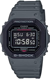Casio G-Shock Mens Quartz Watch, Digital Display and Resin Strap - DW-5610SU-8DR