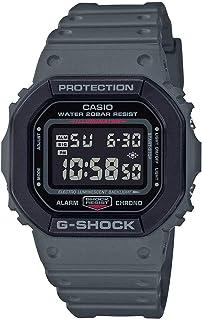 ساعة كاسيو جي شوك الكوارتز للرجال، عرض رقمي وسوار من الراتنج - DW-5610SU-8DR