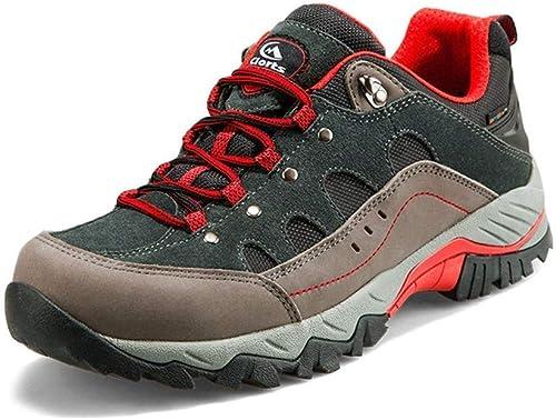 DSX Chaussures de Randonnée pour Hommes Chaussures de Randonnée en Plein Air Imperméables Trekking Chaussures Baskets de Sport, Chaussures de randonnée, 7.5UK
