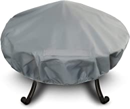 Heavy Duty Premium Large Waterproof Fire Pit Cover - Size: 131cm Diameter Approx.