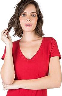 Blusa Gola v Básica Vermelha