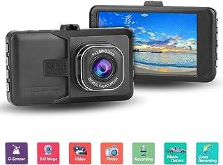 Grabaci/óN En Bucle C/áMara Para Coche Con Sensor De Movimiento Wifi Y Gps,Dashcam Grabadora Ultra Hd,Dash Cam De /áNgulo Amplio 170/° Con G-Sensor,Monitor De Estacionamiento,Detecci/óN De Movimiento