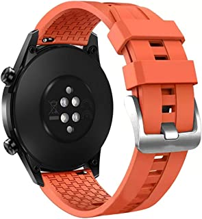 Tomepeia Silicone Watch Band Replacement Watch Strap for Huawei Watch GT2 46mm