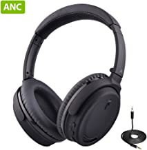 Avantree ANC032 Active Noise Cancelling Bluetooth Headphones with Mic, Wireless, Wired 2-in-1,...