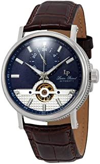 Open Heart 24 Automatic Blue Dial Men's Watch LP-28002A-03-BRW