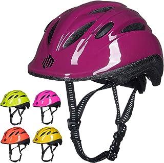 ILM - Casco para bicicleta infantil con esfera ajustable par