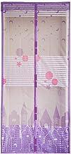 MU Wewnętrzna zasłona magnetyczna przeciw komarom SN, siatka siatkowa drzwi do kuchni letnia zasłona magnesowa, D, 100 * 2...