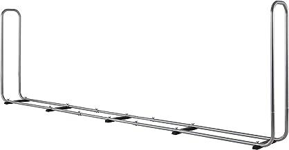 wolfcraft Stapelhulp Modular XXL 5125000 | Verstelbare brandhoutopslag voor buiten van verzinkt staal | Max. volume: 1,6 m³