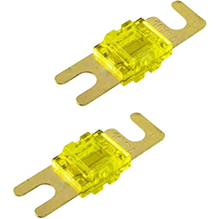 Tomzz Audio 5800 020 Anl Sicherung 80a Vergoldete Elektronik