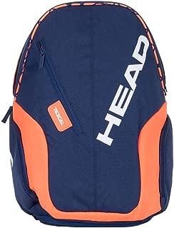 HEAD Radical Rebel Tennis Backpack, Navy Blue/Orange