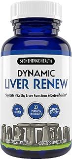 Stonehenge Health Dynamic Liver Renew, Max Strength Formula, Milk Thistle, Beet Root, Artichoke Extract, Chicory Root, Cha...