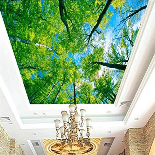 Custom 3D Dreidimensionale zweig decke tapete deckentapete ktv hotel schlafzimmer wohnzimmer hintergrund wand wald landschaft wandbild, 400 * 280 cm
