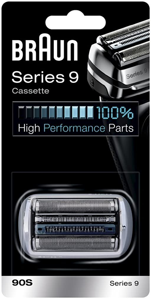 ナプキン医療過誤夢中Braun 90S シリーズ9電気かみそりのための銀箔カッターヘッドパック 90S [並行輸入品]