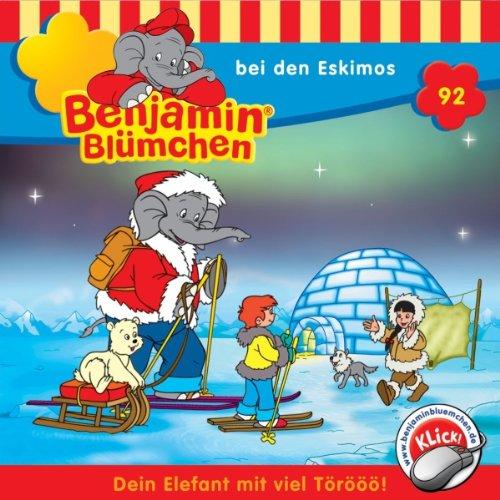 Benjamin bei den Eskimos audiobook cover art