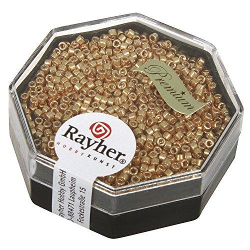 Rayher Delica Perline, Gold