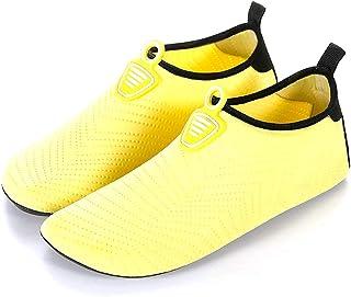 Zapatillas de Agua Hombres Verano Secado Rápido Zapatillas de Playa Ligeros Transpirable Aqua Calzado Snorkel Bucear Surf Swim Piscina Zapatillas de Yoga Escarpines