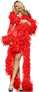 Glamour Robe Adult Lingerie Red - One Size