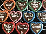 50 Stück Lebkuchen Herz weich und saftig! Gemischte Farben und Sprüche Kindergeburtstag Wurfmaterial Lebkuchenherzen