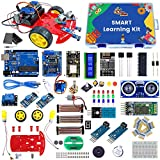Quad Store Smart Learning Robotics IOT Kit for Starters to Advance level users compatible with Arduino IDE and Uno R3 arduino starter kits May, 2021