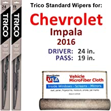 Best 2016 chevy impala wiper blade size Reviews