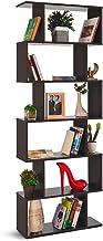 COMIFORT – Estantería Librería Decorativa Moderna Y De Diseño, Cuatro Acabados, Medidas 192 x 70 x 23,5 cm (WENGUE)