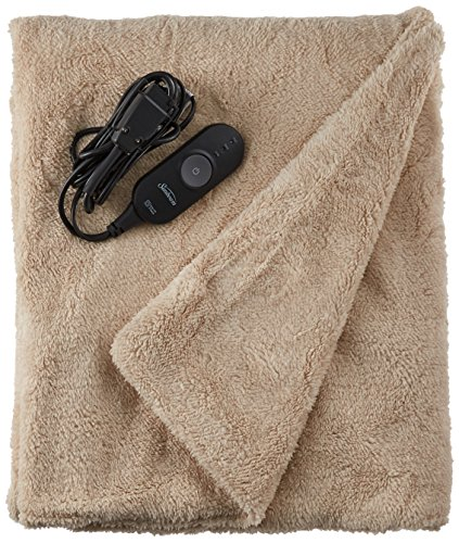 Sunbeam Heated Throw Blanket | LoftTec, 3 Heat Settings,...