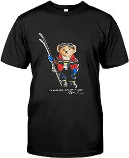 Polo-Ralph-Lauren-Ski-Bear-Tshirt Black