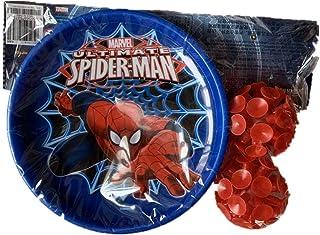 Taolela Spider-Man Chucking Balls+Chucking Bat Sport Set for Kid Boy Mickey Mouse Toy Game Outdoor Activity
