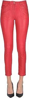 PATRIZIA PEPE Luxury Fashion Womens MCGLDNM000006022I Red Jeans | Season Outlet