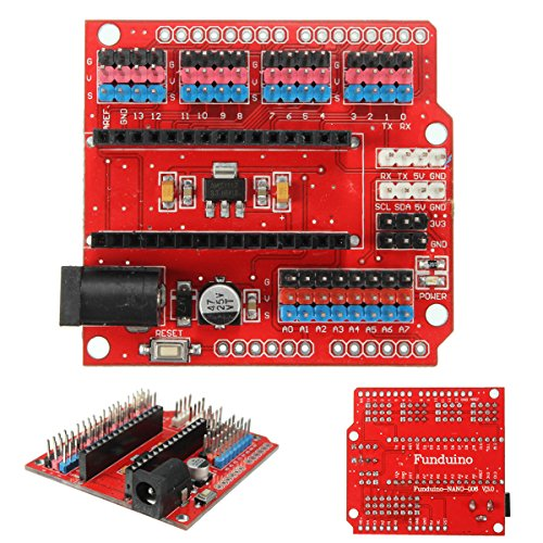 DollaTek Expansion Prototype Shield Módulo de Placa de extensión de E/S para Arduino Nano V3.0