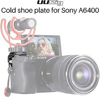UURig R011 Micrófono de zapata fría del lado derecho / Soporte de luz para cámara Sony A6400 / A6500 / A6300 / A6000 accesorios de Vlogging adaptador de montaje de extensión