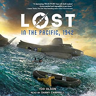 Lost in the Pacific, 1942: Not a Drop to Drink audiobook cover art