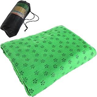 Bundle of 2, Decdeal Non Slip Yoga Towels 72x24IN Yoga Mat Towel for Hot Yoga Bikram Pilates