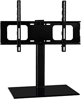 Artiss Table Top TV Stand Mount for 32'' to 70'' LCD LED Plasma Flat Screens and Displays, Swivel and Height Adjustable