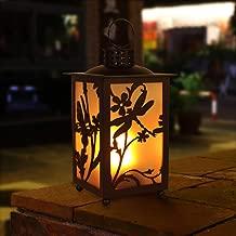 TinyBrite LED Decorative Lantern with Dancing Flickering Vivid Light Effect, 3 Light Modes, 26 x 12 cm