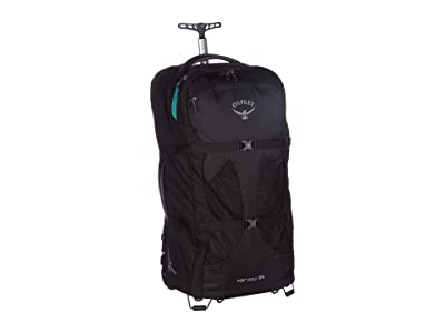 Osprey 65 L Fairview Wheels (Black) Backpack Bags
