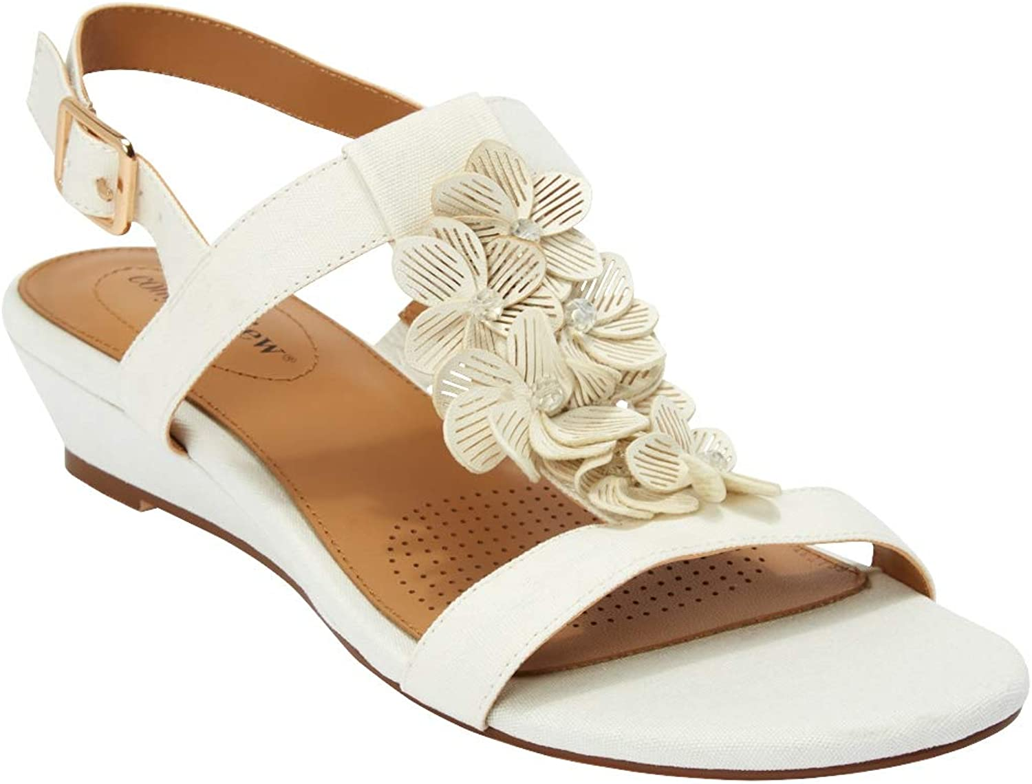 Comfortview Max 45% Mail order cheap OFF Women's Wide Width Slingback Carina The