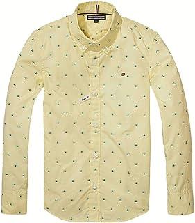 Amazon.es: Amarillo - Camisas / Camisetas, polos y camisas: Ropa