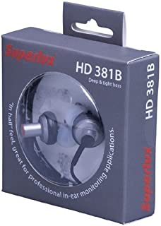Superlux HD381B in-Ear Earphone Sound Clearly