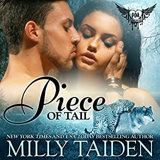 Piece of Tail     Paranormal Dating Agency, Book 13              Written by:                                                                                                                                 Milly Taiden                               Narrated by:                                                                                                                                 Lauren Sweet                      Length: 4 hrs and 28 mins     2 ratings     Overall 3.5