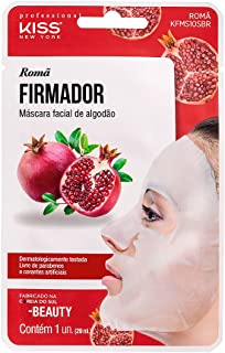 Kiss NY Professional Máscara Facial de Bambu - Romã, Kiss New York Professional